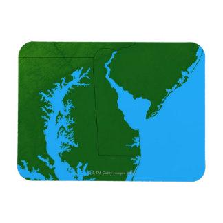 Map of Delaware Magnet