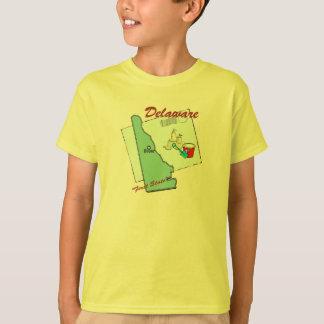 Map Of Delaware T-Shirt