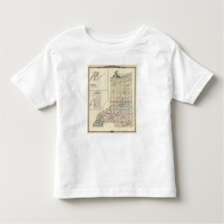 Map of Douglas and Burnett counties Toddler T-shirt