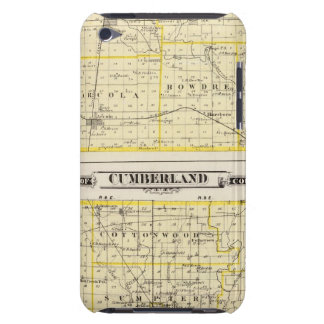 Map of Douglas County Map of Cumberland County Barely There iPod Covers