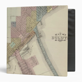 Map of Duluth, St. Louis County, Minnesota Binder