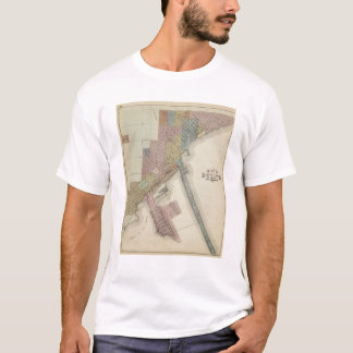 Map of Duluth, St. Louis County, Minnesota T-Shirt