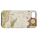 Map of East Africa and Madagascar, 1596 (hand colo iPhone 5 Cover