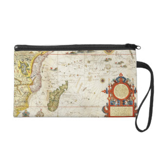 Map of East Africa and Madagascar, 1596 (hand colo Wristlet