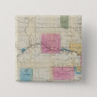 Map of Eastern Kansas Button