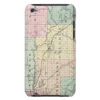 Map of Eau Claire County, State of Wisconsin Case-Mate iPod Touch Case