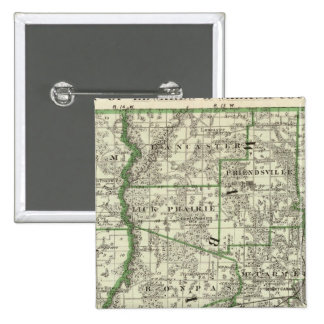 Map of Edwards & Wabash counties and Albion Button