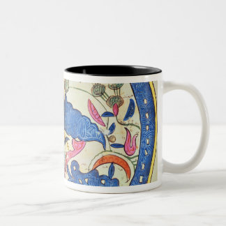 Map of Egypt, 1348 Two-Tone Coffee Mug