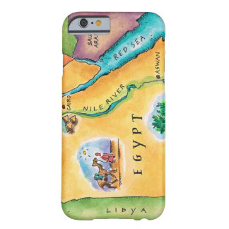 Map of Egypt Barely There iPhone 6 Case