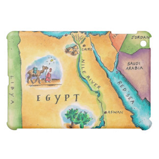 Map of Egypt iPad Mini Case
