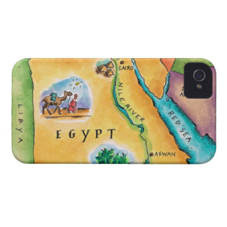 Map of Egypt iPhone 4 Cover