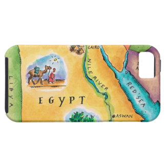 Map of Egypt iPhone SE/5/5s Case