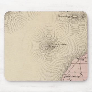 Map of Emmet County, Michigan Mouse Pad