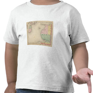 Map of Emmet County, Michigan Tshirts