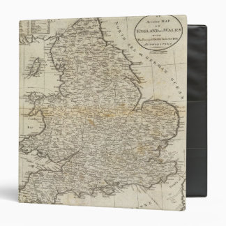 Map of England and Wales Binders