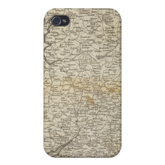 Map of England and Wales Case For iPhone 4