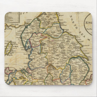 Map of England and Wales Mouse Pad