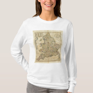Map of England and Wales T-Shirt