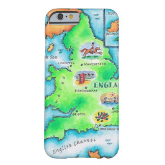 Map of England Barely There iPhone 6 Case