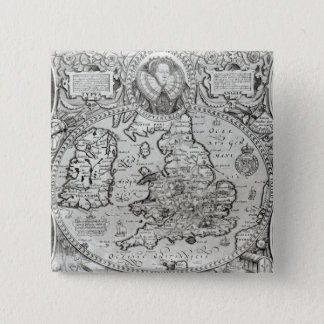 Map of England during the reign of Pinback Button