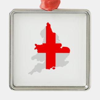 Map of England Christmas Ornament