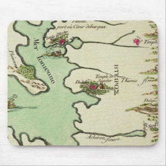 Map of Epirus for 'Andromache' by Jean Racine, fro Mouse Pad