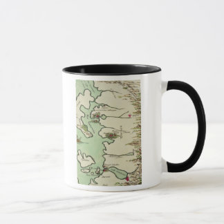 Map of Epirus for 'Andromache' by Jean Racine, fro Mug