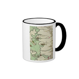 Map of Epirus for 'Andromache' by Jean Racine, fro Ringer Mug