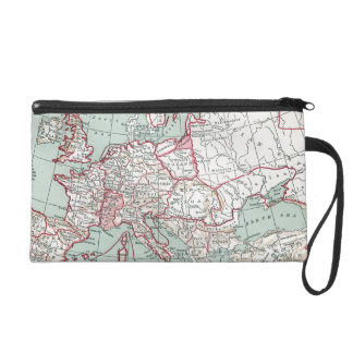 MAP OF EUROPE, 12th CENTURY Wristlet