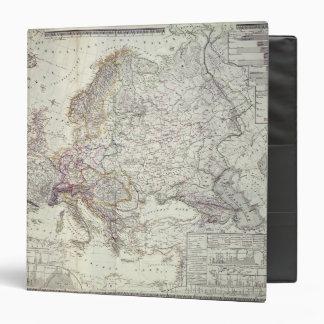Map of Europe, 1841 Binder