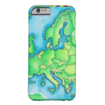 Map of Europe 2 Barely There iPhone 6 Case