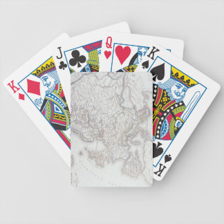 Map of Europe 2 Bicycle Playing Cards