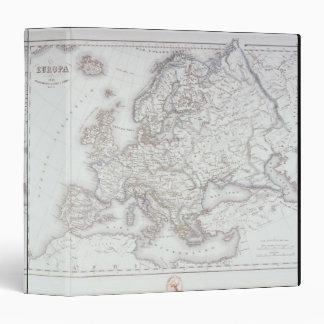 Map of Europe 2 Binder