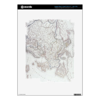 Map of Europe 2 iPad 3 Decal