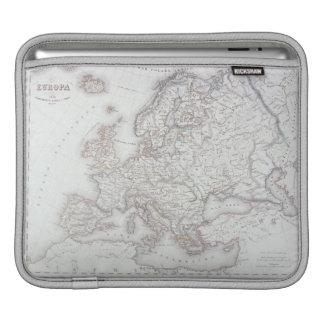 Map of Europe 2 iPad Sleeves