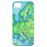 Map of Europe 2 iPhone SE/5/5s Case