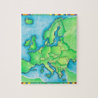 Map of Europe 2 Jigsaw Puzzle