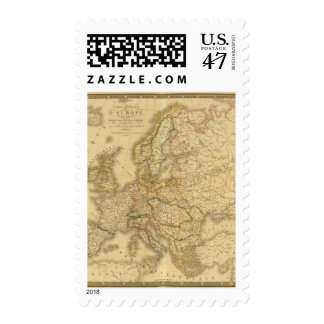 Map of Europe 2 Postage