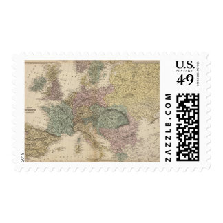 Map of Europe 2 Stamps