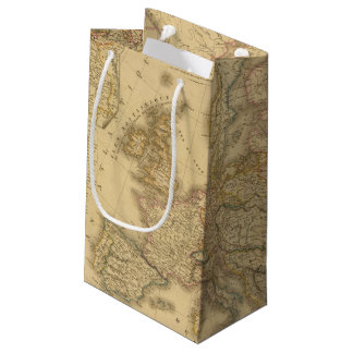 Map of Europe 2 Small Gift Bag