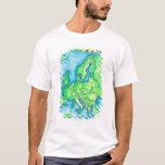 Map of Europe 2 T-Shirt