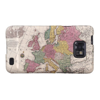 Map of Europe 3 Samsung Galaxy SII Covers