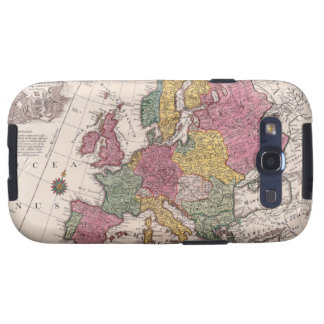 Map of Europe 3 Galaxy S3 Covers