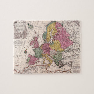 Map of Europe 3 Jigsaw Puzzle