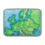 Map of Europe 3 MacBook Air Sleeve