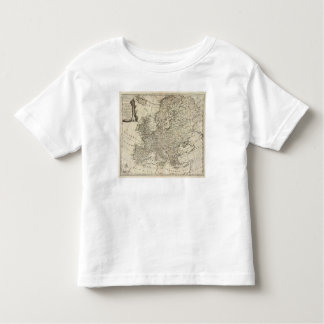 Map of Europe 3 T-shirt