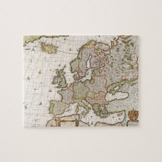 Map of Europe 4 Jigsaw Puzzle