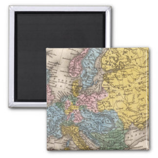 Map of Europe 4 Magnet