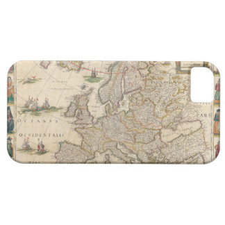 Map of Europe 6 iPhone 5 Covers