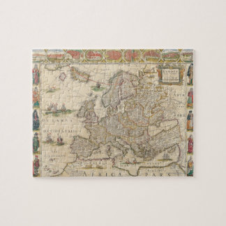 Map of Europe 6 Jigsaw Puzzles